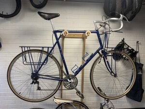 Sometimes an unexpected treasure, like this Braxton Frame, comes into the shop and we restore it.