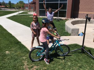 Carbondale 3rd Graders Celebrate Bikes and Sunshine