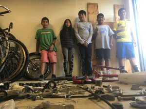Guess How Many Parts? Kids Disassemble a Bike