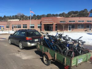 Bike Delivery to Carbondale Middle School